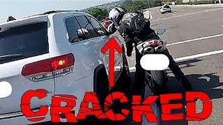 BIKERS SMASHING MIRRORS | CRAZY ROAD RAGE COMPILATION | [Ep. #127]