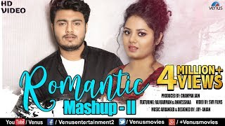 Romantic Mashup - 2 | HD Full Video | Feat. Raj Barman & Anwesshaa | Romantic Bollywood Songs Medley