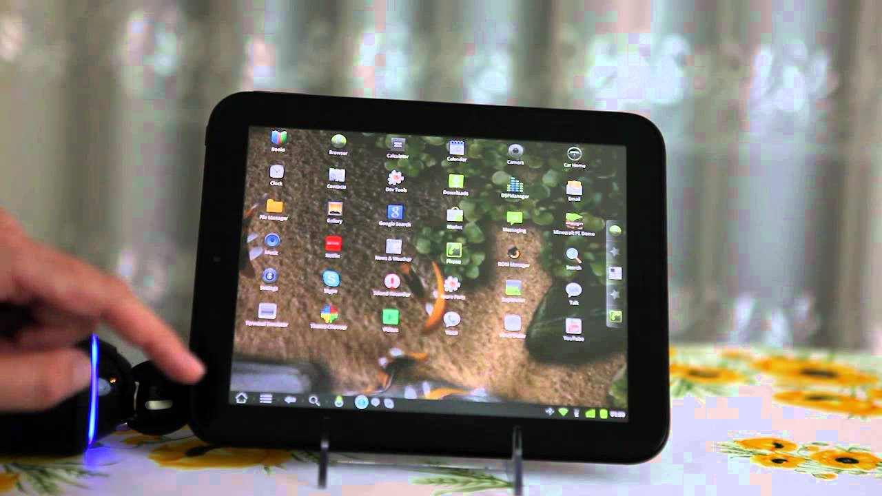 Here's An Alpha Version Of CyanogenMod For The HP Touchpad