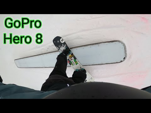 |Gopro Hero 8 Snowboarding Test| 2.7k Superview|