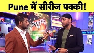 Aaj Tak Show: Bhajji Says South Africa Will Struggle in Pune with Their Batting | #IndvsSA | Vikrant