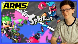 ARMS vs Splatoon | Battle of the New IPs - Scott The Woz