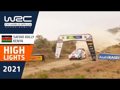 WRC 2021 WRC第6戦ラリー・ケニア 最終日のハイライト動画