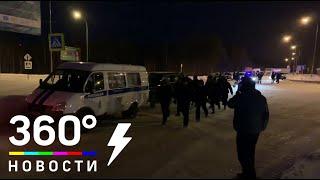 ОМОН прибыл в аэропорт Ханты-Мансийска