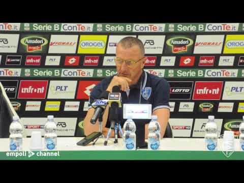 Preview video Le parole di mister Andreazzoli al termine di Cesena-Empoli