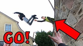 PARKOUR VS SECURITY IN REAL LIFE | POV