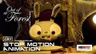 "Stop Motion Animation Short Film ""OUT OF A FOREST"" Family Thriller by The Animation Workshop"
