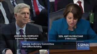 Judge Neil Gorsuch on Cameras in the Court (C-SPAN)