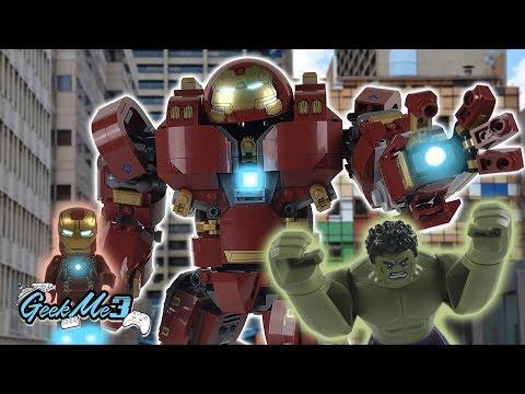 Vidéo LEGO Marvel Super Heroes 76105 : Le super Hulkbuster