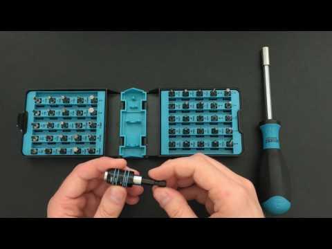 Hazet Bithalter 810SPC-6.3 & Hazet BitE-Box Test Review (English subs)