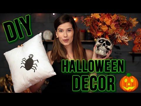 DIY TUMBLR HALLOWEEN ROOM DECOR | Spooktacular w/ Marissa Rachel