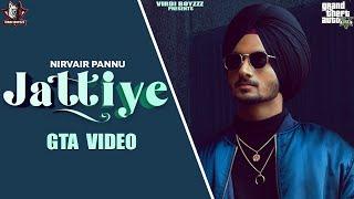 Jattiye | Nirvair Pannu|GTA  Punjabi Video| Snappy | Rav Hanjra| New Punjab Songs 2020 |GTA Punjabi
