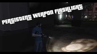 Persistent Weapon Flashlight [RPH / .NET]