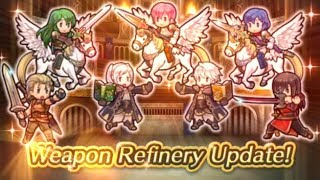 Thoughts and Prediction on New Weapon Refinery Podcast - Fire Emblem Heroes