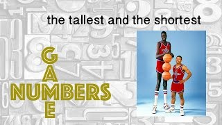 WHO ARE THE TALLEST AND THE SHORTEST PLAYERS EVER IN SPORTS - NUMBERS GAME