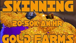 BFA 20k-30k an hour Skinning Farm! LEGIT!