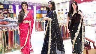 Indian Saree Shopping with my Mum !!!