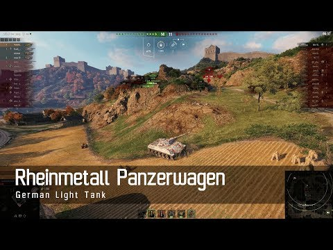 World of Tanks – German Tech Tree - Light tank – Reihnmetall Panzerwagen – Empires Border