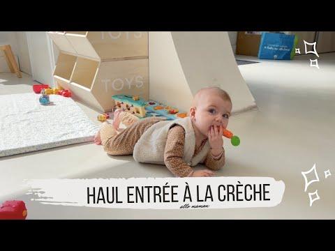 HAUL ENTRÉE EN CRÈCHE - VLOG