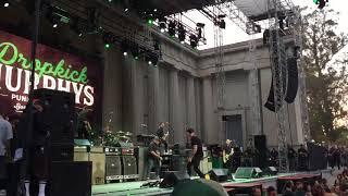 Dropkick Murphys - Barroom Hero, Do Or Die, Never Alone, Boys On The Docks live in Berkeley 8/20/17