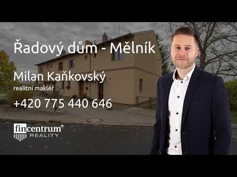 Prodej rodinného domu 110 m2 Perunov, Mělník