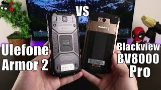 Ulefone Armor 2 vs Blackview BV8000 Pro: Which Rugged Phone is Better?