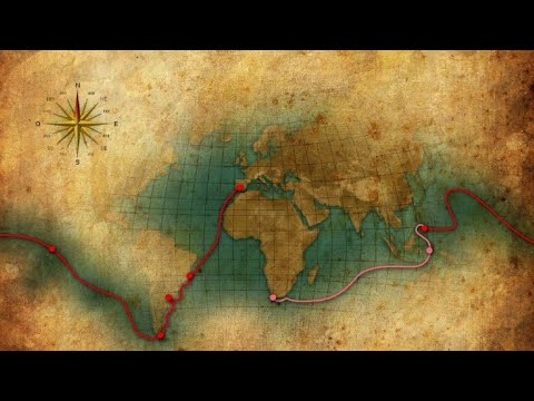 العرب اليوم - شاهد: رحلة البرتغالي فرناندو ماجلان حول العالم