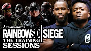 Rainbow Six Siege Training: NFL Stars Marquise Goodwin & Pierre Garcon Learn How To Play | Part 1