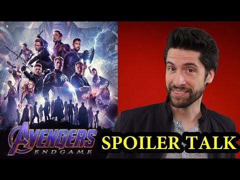 , title : 'Avengers: Endgame - SPOILER Talk'