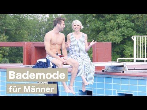 Bademode für Männer - Luisa Rossi & Steven Epprecht