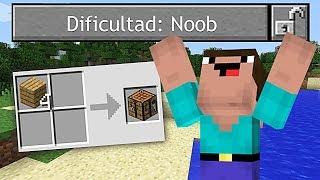 DIFICULTAD NOOB !! ( NUEVA DIFICULTAD EN MINECRAFT ) - VIDEOS DE MINECRAFT