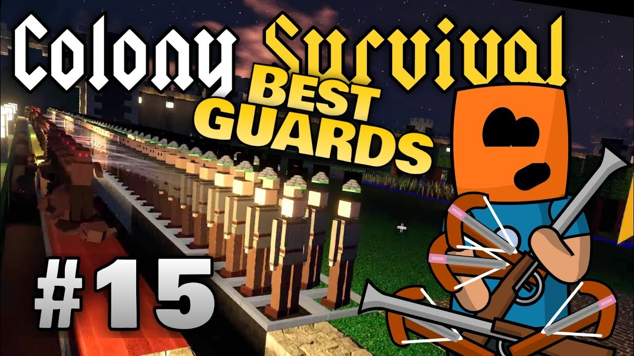 Colony Survival ep15 | Best Guards, Minimum Upkeep