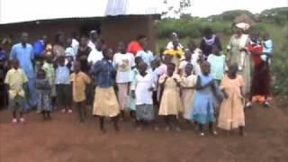 Kościół Uganda taniec Care Mission