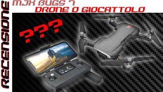 BUGS 7 Drone o Giocattolo ??? RECENSIONE Mjx Bugs 7 versione due batterie test video e foto
