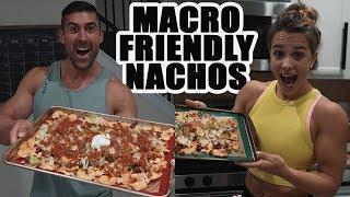 Macro Friendly Nacho Recipe - Low Carb, Low Fat, High Protein, Bodybuilding Nachos!