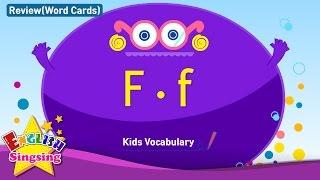 Kids từ vựng biên soạn - Words bắt đầu với F, f 2