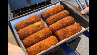 Deep-Fried Corn On The Cob!  (In the Cajun Fryer)