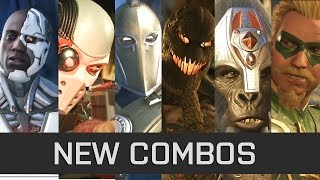 Injustice 2 - Combo Showcase by K&M - Grodd/Fate/Cyborg/Deadshot/Arrow/Scarecrow