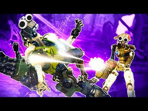 I Destroy the Robot Commander With a Gatling Gun in Stormland VR!