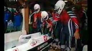 4er Bob Olympiade Nagano 1998 Team Christian Reich Schweiz I