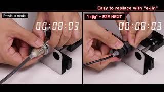 E2E NEXT 3-wire Proximity Sensor: long distance detection
