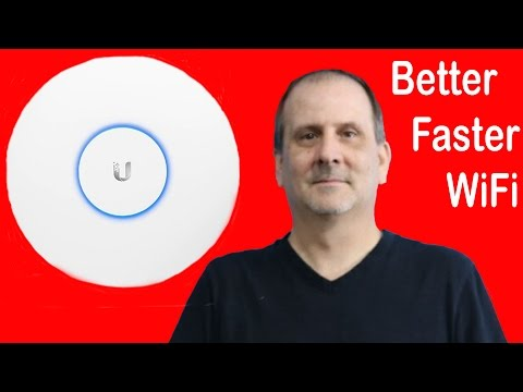 Better, Faster Wifi with Ubiquiti Unifi AP AC-Pro Wireless Access Point Open Box