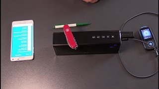 Stereo Bluetooth 4.0 Lautsprecher Speaker, 20W Audio Output, USB,SD,AUX