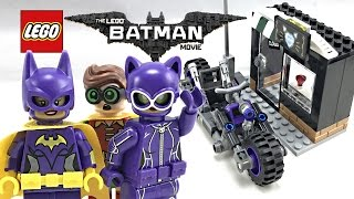 LEGO Batman Movie Catwoman Catcycle Chase review! 2017 set 70902!