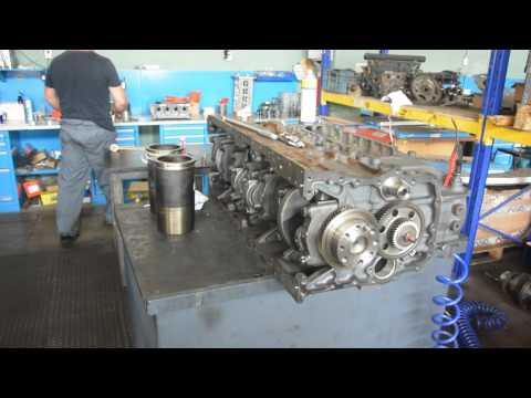 Капремонт грузовых двигателей