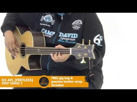 Ortega Guitars | D2-4FL - Deep Series 2 (Acoustic Bass Guitar)