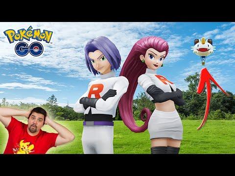 , title :'¡NUEVO EVENTO con JESSIE y JAMES en GLOBO de MEOWTH a Pokémon GO! [Keibron]'