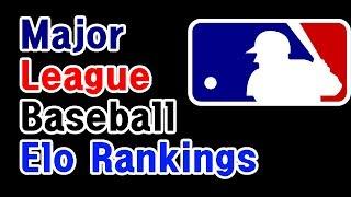 History of MLB Teams Elo rankings