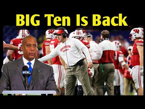 Big Ten is Back    College Football Season   