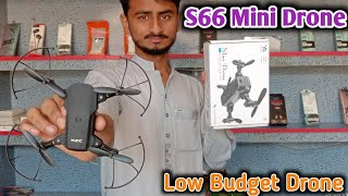 S66 Mini Drone | s66 mini drone unboxing | s66 mini drone review